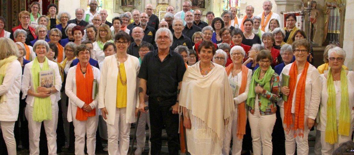 Concert 22 avril 2018 à Plovan avec Choeur de l'Île